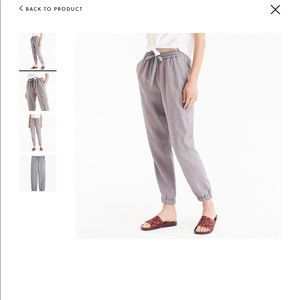 NWOT J Crew Seaside Pants -xs